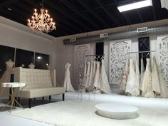 Inverness Bridal Couture ||Conway, AR|| Bridal Boutique Interior, Boutique Design, Moda Peru, Bridal Shops, Future Shop, Box Van, Wedding Store, Studio Interior, Fashion Studio