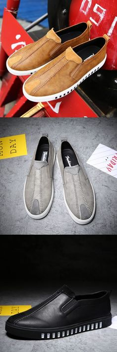 Handmade Men Genuine Leather Shoes Simple Mens Casual Flats Male Fashion Casual Big Size Dress Preppy Hip Hop Leisure