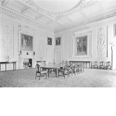 The state dining room at Wentworth Woodhouse, formerly the grand drawing room.