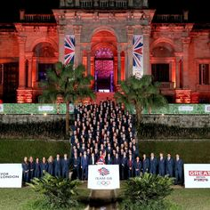 The Princess Royal, @TeamGB President, with flag bearer @AndyMurray and the Team GB Olympic Athletes at British House in Rio, Brazil - we're wishing the best of luck to the whole team competing at @rio2016!  The Princess Royal has a long association with the Olympic Games, both as a competitor in the 1976 Games, as now as President of the British Olympic Association and a Member of the International Olympic Committee #Rio2016