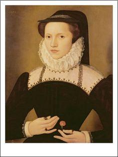 Portrait of Anne Waltham, 1572. François Quesnel