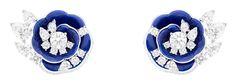 Van Cleef & Arpels Pierres de Caractère Fleur de Lapis Lazuli earclips