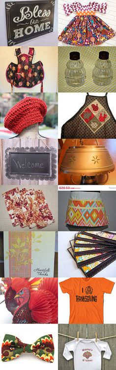 Get ready for Turkey Day! by Kris on Etsy--Pinned with TreasuryPin.com