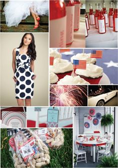 Need 4th of July Ideas?  This blog is just full of them.  junkgarden: 4th of july
