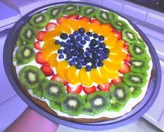 Fruit Pizza Recipe via @gayecrispin
