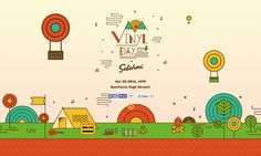 Most Loved! Superb colorful illustrations throughout this one pager for 'Vinyl Day 2014' http://onepagelove.com/vinyl-day-2014