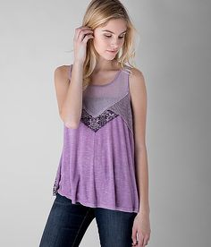 Gimmicks by BKE Back Lace-Up Tank Top - Women's Tops | Buckle