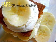 Yummy and the kids love it! Grain-Free Banana Cake (GAPS-friendly). via www.foodrenegade.com