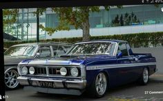 HOT HOT HOT Aussie Muscle Cars, American Muscle Cars, Australian Cars, Old Classic Cars, Ford Falcon, Car Colors, Ford Gt, Station Wagon, Sexy Cars