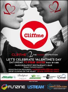 """Cliffme2"" or ""CliffmeToo"" with a ""Kissme, Kissyou, Kisshim... competition!"