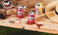 Cherry-Bourbon Soda Can Cocktail