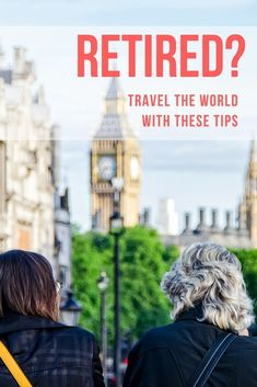 Senior citizens are now considered one of the fastest growing demographics in travel, So with this in mind, we've put together the following travel tips for retirees.  via @mappingmegan