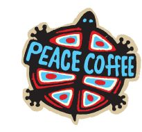 """Peace Coffee's mission is to make exceptional-tasting, organic fair-trade coffee that sustains the livelihoods of the people who grow, roast, and sell it; preserves and protects the environment that produces it; and delights the taste buds of those who drink it."""