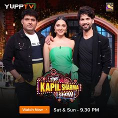 Watch the latest episodes of popular Sony Entertainment APAC show, The Kapil Sharma Show through YuppTV. Access all the latest Hindi TV shows and videos through Catch-Up TV. Kapil Sharma, Sony Tv, Tv Shows, Entertaining, Popular, Live, Movie Posters, House, Home