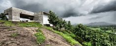 Casa de Basalto by Spasm Design Architects (Khopoli, India) #architecture