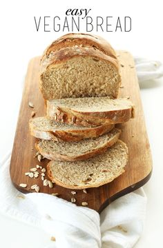 Easy Whole Wheat Bread | Minimalist Baker Recipes * I made this bread and its lovely!