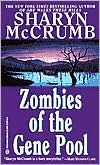 Zombies of the Gene Pool - Sharyn McCrumb, 1992. English prof. Marion Farley and Engineering prof. Jay Mega accompany English prof. Erik Giles to a reunion of a sci fi writers' colony from the mid-50s. They buried a time capsule of original stories, but the town was later flooded to build a dam. The lake is being drained to make repairs, and they plan to excavate the time capsule and sell the stories. Parodies of early sci fi authors and much insight into fandom.  Fun! #2 in Farley/Omega…