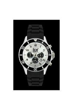Ice Watch Chrono Black Silver