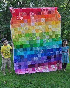 Rebecca's Rainbow Quilt