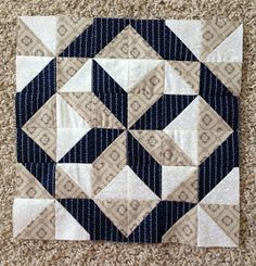 {Sisters and Quilters}: APPLE PIE IN THE SKY QUILT ALONG BLOCK 9 Star Quilt Blocks, Star Quilt Patterns, Star Quilts, Mini Quilts, Pattern Blocks, Block Quilt, Scrappy Quilts, Triangle Quilt Pattern, 9 Block