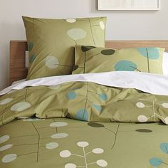 Love this modern design so much and it's on sale. Biddy Craft. Big Sur Duvet Cover + Shams #WestElm