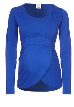 FRILLA - T-shirt à manches longues - bleu