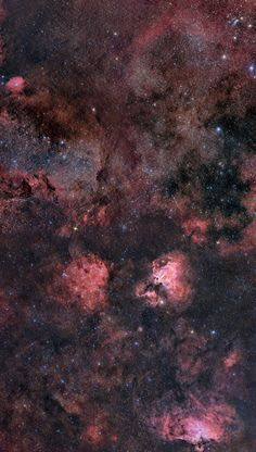 This explains a lot. The Galaxy's Bar: Sagittarius B2 ~ A huge cloud floating…