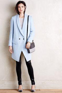 Boucle Tuxedo Coat - anthropologie.com