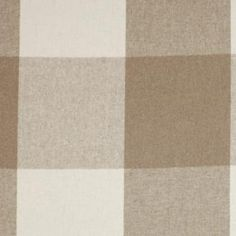 Cut length of Grasmere Check in Taupe made by Jim Lawrence is a beautiful soft #wool #fabric