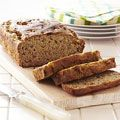 Banana quick bread with whole wheat flour...I also add raisins and walnuts....delicious, fast & easy!