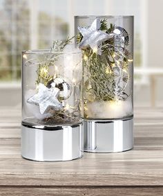 Advent, Christmas Centerpieces, Snow Globes, Candle Holders, Restaurant, Candles, Home Decor, Tiny Gifts, Christmas Decor
