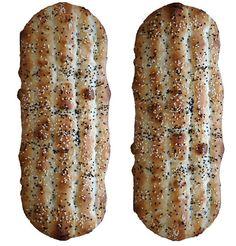 Naan-e barbari bread