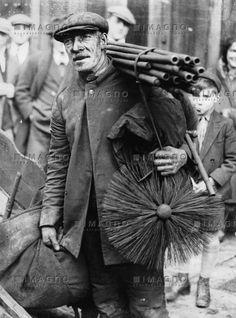 Rauchfangkehrer als Glücksbringer zum Jahreswechsel, © IMAGNO/Austrian Archives