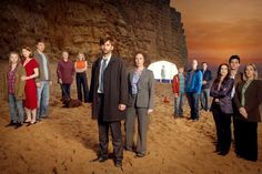 BROADCHURCH | ITV | 2013.   A bit like a British Twin Peaks (who killed Danny Lattimer?) but less weird.  Good, intriguing drama with the excellent Olivia Colman & David Tennant in the lead roles.