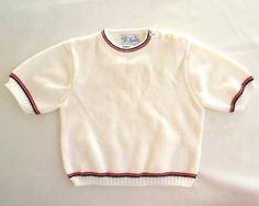 Vintage 60s Infant Knit Shirt  //  Mod Scooter by ModLoungeVintage, $14.00