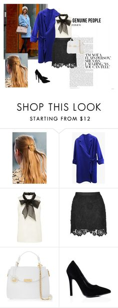 """""""Geunine people"""" by alien-official ❤ liked on Polyvore featuring Versace, women's clothing, women's fashion, women, female, woman, misses, juniors, Genuine_People and FattyFox"""