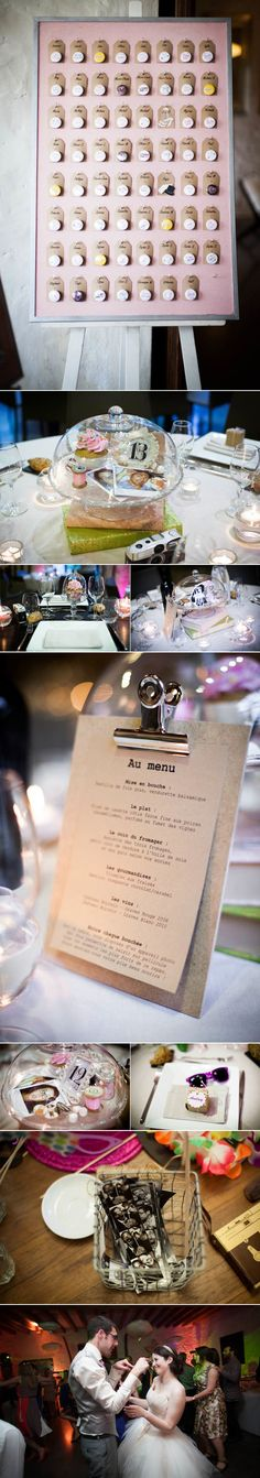 Cadre pour fixer les badge et le plan de table le-blog-de-madame-c-mariage-domaine-de-quincampoix-florence-jamart-6