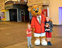 Meeting Billy Bear at Butlins Minehead was definitely a highlight for the kids!   http://www.tantrumstosmiles.co.uk/2017/08/our-family-holiday-at-butlins-minehead.html