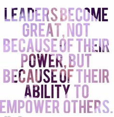 Image result for quotes leaders become great