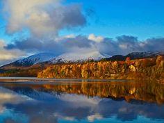 Creag Meagaidh, Scotland in autumn