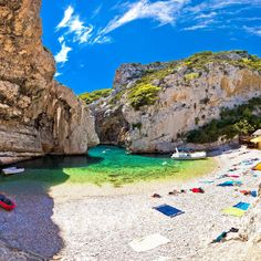 From elegant islands and coastal towns to dreamy parks and sleepy medieval villages, these are the most beautiful places to visit in Croatia. Visit Croatia, Croatia Travel, Italy Travel, Croatia Itinerary, Beautiful Places To Visit, Beautiful Beaches, Places To See, Croatian Islands, Island Tour