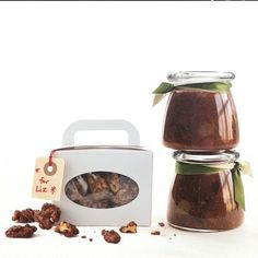 Candied Espresso Walnuts Walnut Recipes, Candied Walnuts, Iron Chef, Chex Mix, Coffee Recipes, Holiday Baking, Food Gifts, Holiday Treats