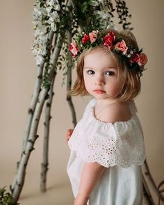 """Emily Stowell on Instagram  """"I don t think this little one could be any  cuter 😍. Beautiful photo by Kim Novak photography using a custom flower  crown.…"""" 95ee6213c0d"""
