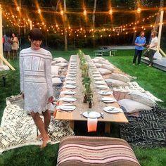 COCOCOZY: SUMMER STRING LIGHTS - DINING AL FRESCO