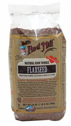 Flaxible benefits! Rich in fiber and Omega–3's, flax seed has been renowned for its myriad of health benefits since ancient times. Add flaxseed meal to your hot or cold cereal, pancakes, and waffles for a robust nutty flavor, and save the raw whole seeds for when you want to add a little crunch. Try using ground flaxseed instead of eggs in baking and cooking. Add 1 T ground flax seed with 3 T warm water, let sit until a gel forms and use for 1 egg in recipe (pancakes, quick breads).