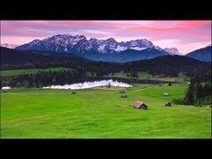 Willkommen-in-germany: Landschaft in Bayern (Bavaria), Southern Germany German Folk Music, Landscape Wallpapers, Black Forest Mountains, Black Forest Germany, Germany Castles, Neuschwanstein Castle, In Patagonia, Romantic Places, Bavaria Germany