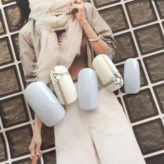 """大坂祐子 nail salon Conoa on Instagram: """"Conoa ☎︎07065231787 LINE@ID @zcn8274y * #nail #ネイル #ネイルアート #ネイルサロン #ジェルネイル #ネイルデザイン #シンプルネイル #大人ネイル #上品ネイル #表参道 #青山 #渋谷 #表参道ネイル #渋谷ネイル…"""""""