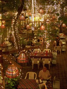 Cabbages & Condoms in Bangkok the most magical place to dine.  Promotes Aids Awareness.