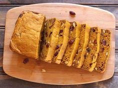 Pumpkin Cranberry Cashewnut Bread