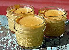 pumpkin custard - for those on a paleo kick..you can still have Thanksgiving dessert!